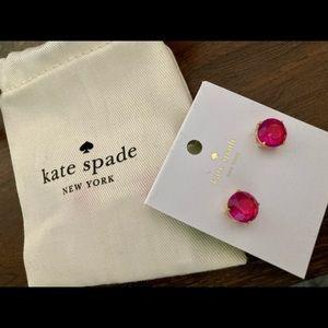 Kate Spade pink studs